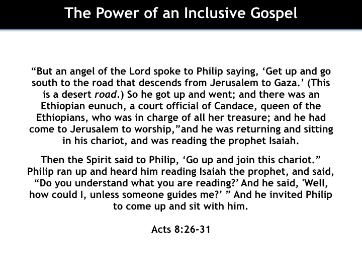 The Power of an Inclusive Gospel - Part 2